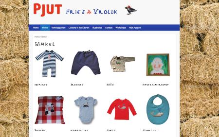 Pjut Webshop