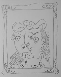 Sketch Picasso & Boijmans